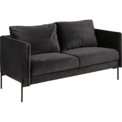 Kimmy Sofa 2,5 Sitzer grau Wohnlandschaft Couch Wohnzimmer Garnitur Möbel