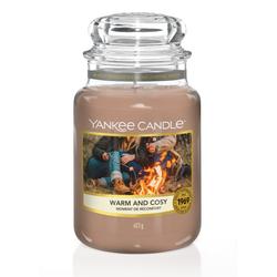 YANKEE CANDLE Große Kerze WARM & COSY 623 g Duftkerze