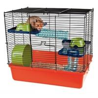 TRIXIE Hamsterkäfig mit Grundausstattung 40 x 38 x 30 cm