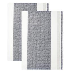 Lashuma Geschirrtuch Rustik, (Set, 2-tlg), Saugstarke Küchenhandtücher, Trockentücher 48x68 cm