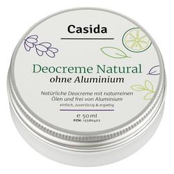 Deocreme Natural ohne Aluminium