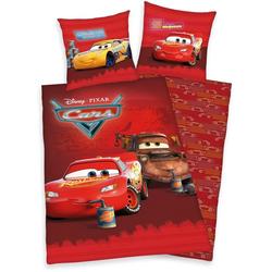 Kinderbettwäsche Disney´s Cars, Walt Disney, mit tollem Lightning McQueen-Motiv rot