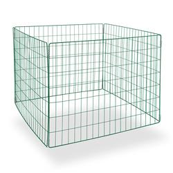 Metallkomposter green-line 90x90x70 cm Metallkomposter Komposter