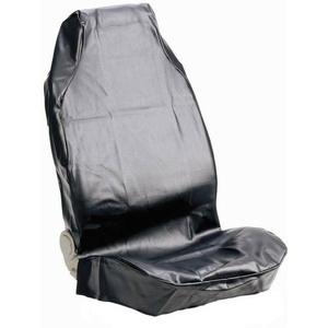 074010 Sitzbezug 1 Stück Kunstleder Schwarz Fahrersitz
