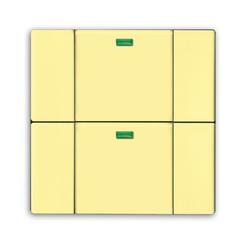 Busch Jaeger 6126-815-101, Tastsensor, gelb, Busch-Powernet KNX, Bedienelemente solo