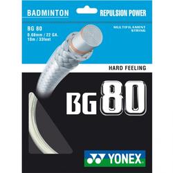 Badmintonsaite - Yonex BG 80, 10m