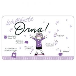Brettchen - Weltbeste Oma Design@Home