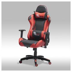 ebuy24 Gaming-Stuhl Gamer Stuhl Wild und Bürostuhl in roten und schwar