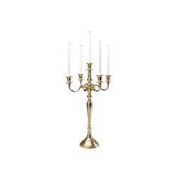 KARE Kerzenständer Kerzenleuchter Chalet Gold 63cm