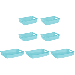 keeeper Aufbewahrungsbox lotta (Set, 7 Stück) blau Boxen Truhen, Kisten Körbe Schlafzimmer Aufbewahrungsboxen