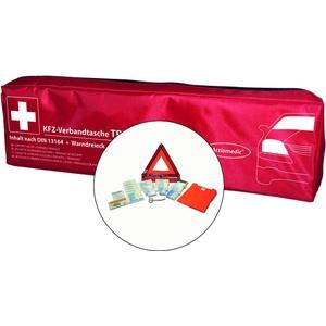 Actiomedic® KFZ-Verbandtasche TRIO DIN 13164:2014 Rot