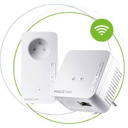 Devolo Magic 1 WiFi mini Starter Kit FR Powerline WLAN Starter Kit 1,25 GBit/s