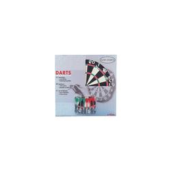 New Sports Dartscheibe Dart-Board mit Pfeilen, 43 cm Ø