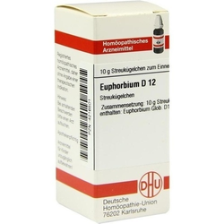 EUPHORBIUM D 12 Globuli 10 g
