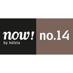 now! by hülsta Vitrine now! no. 14 mit Glashaube, Höhe 155,4 cm grau