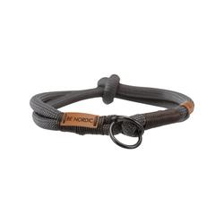 TRIXIE Hunde-Halsband BE NORDIC ZugStopp, Tau grau 1 cm x 50 cm