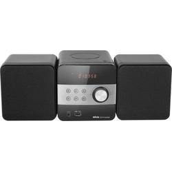 Silva Schneider SMP 350 USB Stereoanlage CD, Schwarz