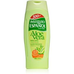 Instituto Español Aloe Vera beruhigende Hautmilch 500 ml