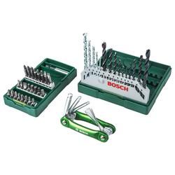 BOSCH Werkzeugset Bohrer- und Bit-Set, (Set, 15-St)