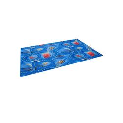 Kinderteppich Kinder und Spielteppich Disney Cars Blau, Snapstyle, Höhe 4 mm 80 cm x 320 cm x 4 mm
