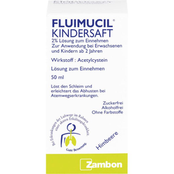 FLUIMUCIL Kindersaft 50 ml