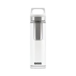 Sigg Isolierflasche Isolierte Glas-Trinkflasche White, 400 ml weiß