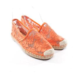 VALENTINO Damen Espadrilles orange, Größe 35, 4929922