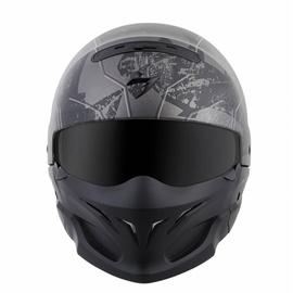 Scorpion Exo-Combat Opex Matt-Black/Silver