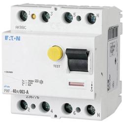 Eaton 236772 Fehlerstrom-Schutzschalter A 4polig 25A 0.03A 400V