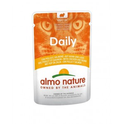 Almo Nature Daily Kip & Zalm 70 gram  60 x 70 gram
