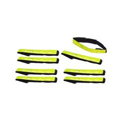 BigDean Fahrradreflektor 8 Stück Sicherheits Reflektorbänder Reflektorband, (8 St)