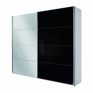 Schwebetürenschrank schwarz weiß  Kleiderschrank Schwarz Preisvergleich - billiger.de