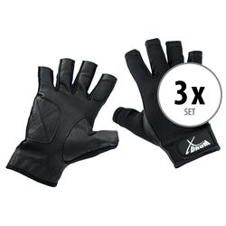 3er Set XDrum Drummer Handschuhe L kurz