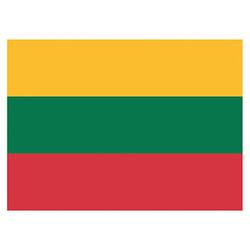 Flagge Litauen 90x150cm mit Befestigungsösen