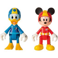 IMC TOYS Sammelfigur Micky Roadster Racers 2 Figuren (Micky+Donald)