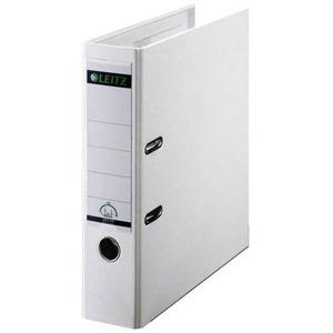 Leitz Ordner 1010 DIN A4 Rückenbreite: 80mm Weiß 2 Bügel 10105001