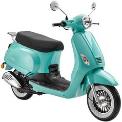 Luxxon Motorroller Emily, 49 ccm, 45 km/h, Euro 4 blau