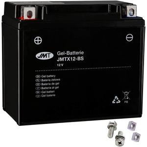 YTX12-BS Gel Batterie für ZZR 600 E Baujahr 1993-2006 von JMT