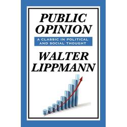 Public Opinion by Walter Lippmann als Buch von Walter Lippmann