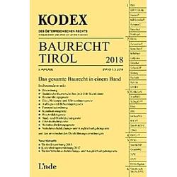 Baurecht Tirol 2018. Barbara Gstir  - Buch