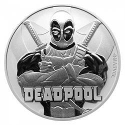 1 Unze Silber Marvel Deadpool 2018
