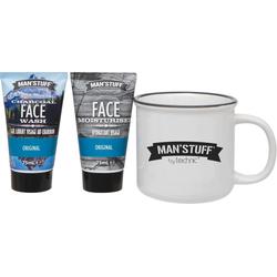 MAN'STUFF Gesichtspflege-Set Man Mug, 3-tlg.