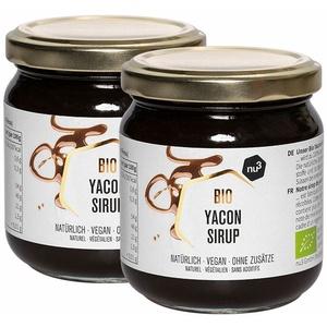 nu3 Bio Yacon Sirup 2x250 g Sirup