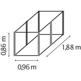 Vitavia Hochbeet Linus 858 granit