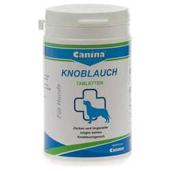 (5,94 EUR/100g) Canina Knoblauch Tabletten 180 g