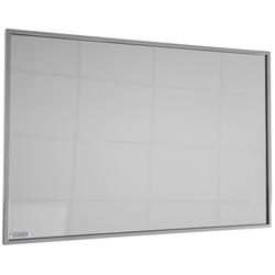 Infrarotheizung Zipris S 900, 900 W, Spiegelheizung mit Titan-Rahmen grau