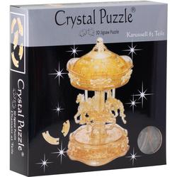 HCM KINZEL 3D-Puzzle Crystal Puzzle, Karussel transparent bunt Kinder Ab 12-15 Jahren Altersempfehlung