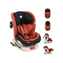 Kikkaboo Autokindersitz Kindersitz Kindersitz Strong Isofix, 13.9 kg, Gruppe 0+/1/2/3 (0 - 36 kg), 5-Punkt-Gurt orange