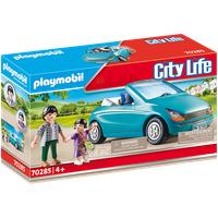 Playmobil City Life Papa und Kind mit Cabrio 70285