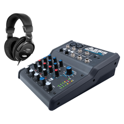 Alesis MultiMix 4 USB FX 4-Kanal Mixer Set